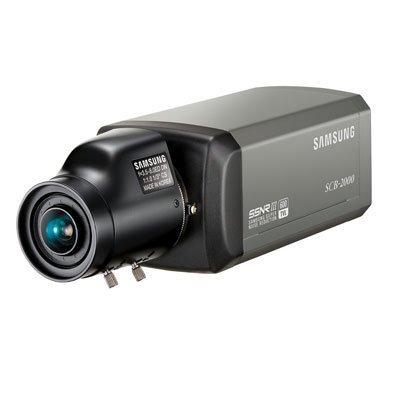 SS18–Samsung scb-2000p 1/7,6cm Hohe Auflösung Tag & Nacht CCTV Kamera 600TVL 12/24V