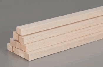5 BWS3461 Bass Wood 1//4 x 1 x 24