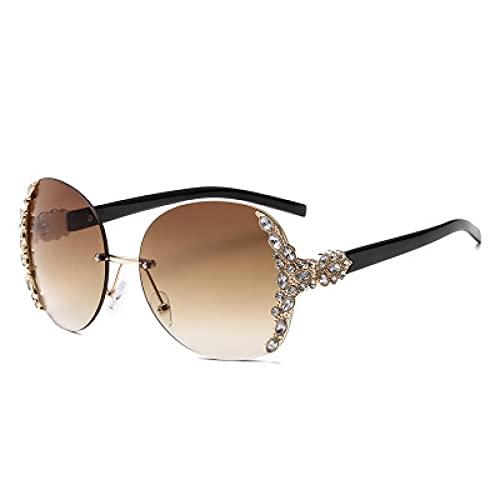 LUOXUEFEI Gafas De Sol Gafas De Sol Mujer Hombre Gafas De Sol Sin Montura Gafas De Mujer
