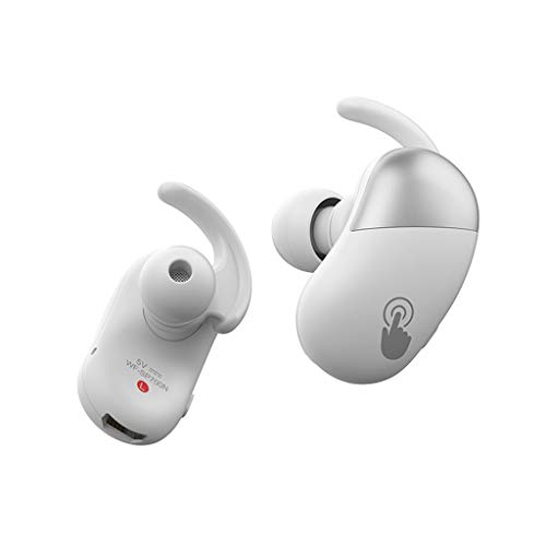 Andifany WF-SP700N Headset 5.0 Earbuds Stereo in-Ear Contact Headset,with Storage Bag(White)