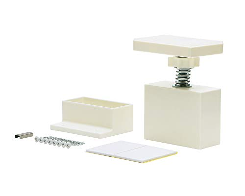 Heian Shindo LABRICO DIY Storage Parts, 2 x 4 Adjusters, Strong Type, Off White, EXO-1, Maximum Load: 88.2 lbs (40 kg)