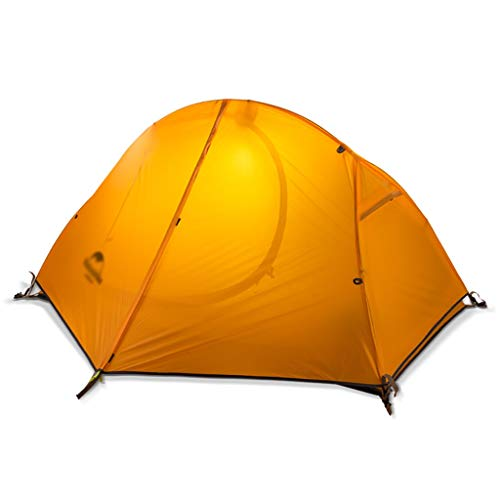 Camping tent Ultralight Single Person Tent,Lightweight Backpacking Tent,1 Person Personal Bivy Tent Easy Setup for Travel Outdoor Mountaineering Hiking One People Sleeping (color : A)