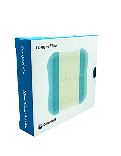 COMFEEL plus Geschwür Wundkompresse, 10x 10cm, 10Stück