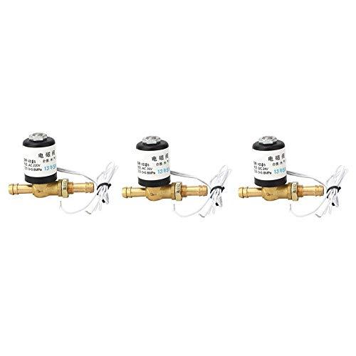 Elektrisches Magnetventil, 0~0.8Mpa Elektrisches Schweißgerät Magnetventil für Argon und Anderes Reingas, AC220V 36V DC24V(DC24V)