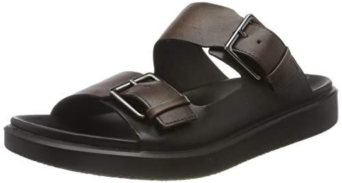 ECCO FLOWTLXM, Zapatillas de Estar por casa Hombre, Marrón (Cocoa Brown/Black 55424), 43 EU