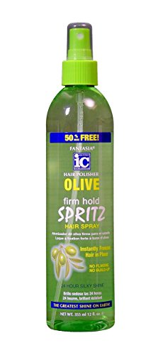 Price comparison product image Fantasia Olive Oil Spritz Hair Spray,  12 Ounce