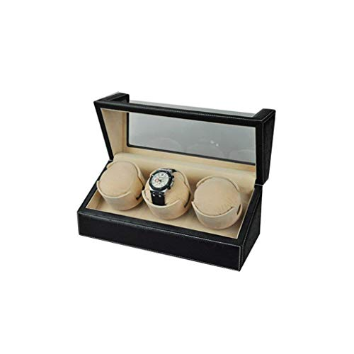ADSE Devanadera de Reloj Cajas de enrollador de Reloj 3 + 0 Reloj mecánico Caja de Reloj automática Caja de Enrollado de Reloj mecánico enrollador de Reloj