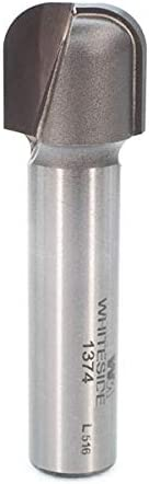 popular Whiteside Router Bits 1374 Bowl and Tray Bit with 1/4-Inch Radius high quality 3/4-Inch Cutting Diameter, 5/8-Inch Cutting Length, and 1/2-Inch Diameter wholesale Shank online sale