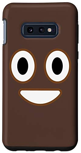 Galaxy S10e Funny POOP Emoji Emoticon Case
