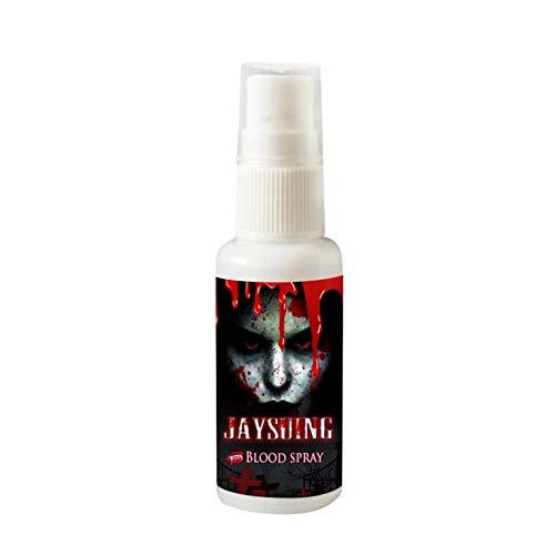 WSJDE 30 ml / 1 FL. Unze Flasche realistische Kunstblut Spray beängstigend Halloween Make-up Splatter Blut Party Favors Dekoration Zubehör