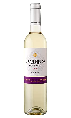 Gran Feudo Dulce De Moscatel Vino Blanco - 6 Paquetes de 500 ml - Total: 3000 ml