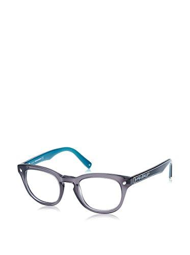 Dsquared D Squared Frame DQ5114 020 -48 -21 -145 D Squared Wayfarer Brillengestelle 48, Black