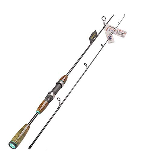 Hayandy Spinning Angelruten-Führungsring und Rollenhalter 2 Abschnitt Lure Fishing Spinnrute-Just Tip_S702L (Color : Whole Rod, Size : S702L)