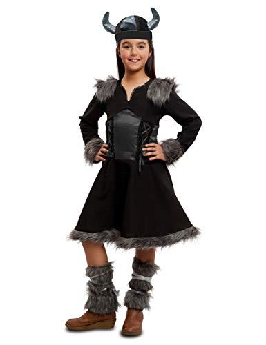 VIVING - Disfraz infantil vikinga 7/9 años