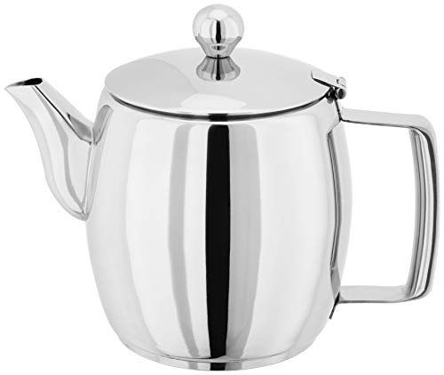 Judge Hob Top Teapot Stainless Steel, Induction Ready Stovetop Tea Kettle, Stay Cool Handle, Non-Drip Spout Large 1L