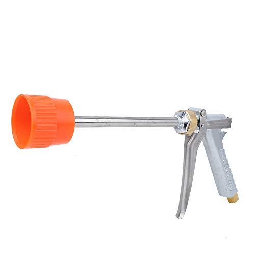 Haofy Pistola pulverizadora de Agua de Alta presión G3/8 DN10 Boquilla de Manguera Ajustable con Varilla Larga