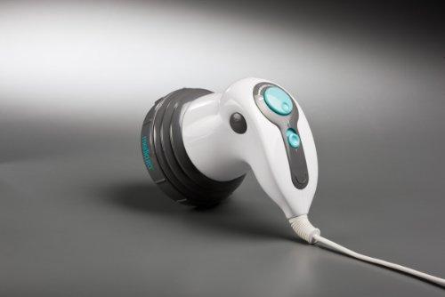 Ardes ARM240N Massaggiatore Anticellulite Zen 4 in 1, con 4 Accessori Intercambiabili e Funzione Calore a Raggi Infrarossi con Pochette