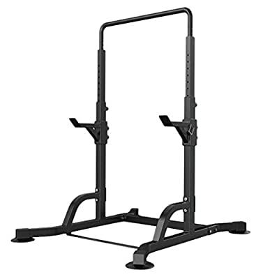 Dr.Home Professional Adjustable Squat Racks Barbell Free Bench Press Olympic Weight Benches Dumbbell Racks Multi Design from Beginner to Master (E)