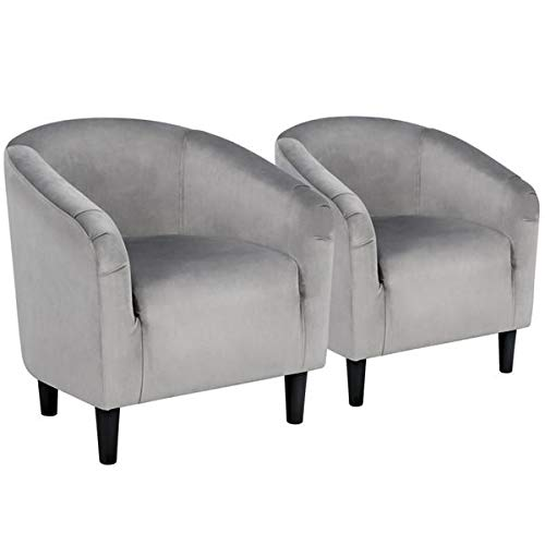 Best accent armchair set of 2 living room for 2021