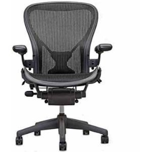 Aeron Chair by Herman Miller - Highly Adjustable Graphite...