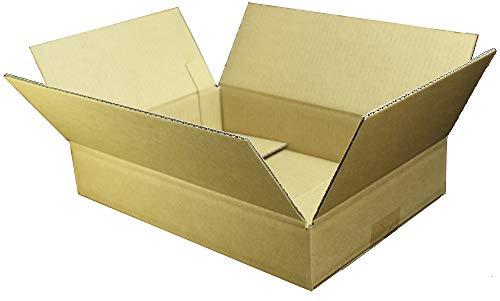 愛パック ダンボール 段ボール 60サイズ A4 対応 160枚 ダンボール箱 宅配 発送 引っ越し 日本製 無地 薄型素材 (317×217×60mm) 60S01160
