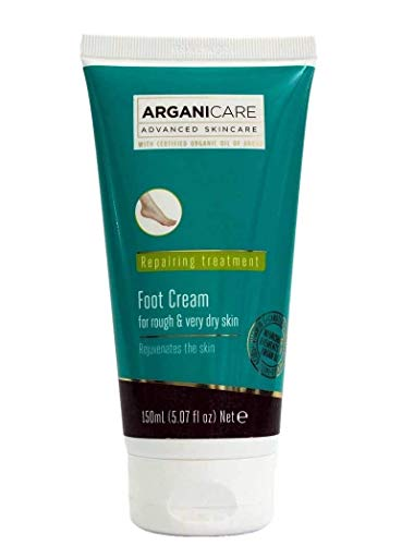 Arganicare Foot Cream Hydration Treatment for Rough and Very dry skin 150 ml (5.07 fl oz)