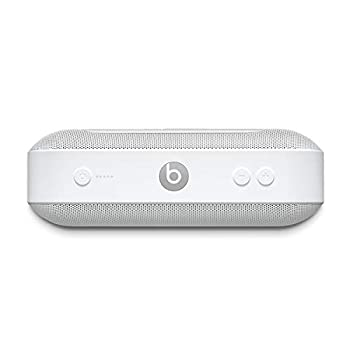 Beats Pill+ Portable Wireless Speaker - Stereo Bluetooth 12 Hours Of Listening Time Microphone For Phone Calls - White