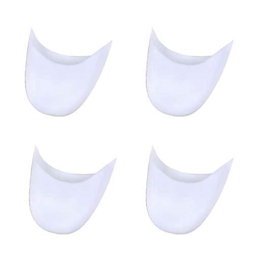 MisFox 4 Paia Salvapunte In Silicone, Traspirante e Durevole Copriscarpe Danza Balletto Scarpe da Puntali Protezioni Per Dita Piedi Protezione