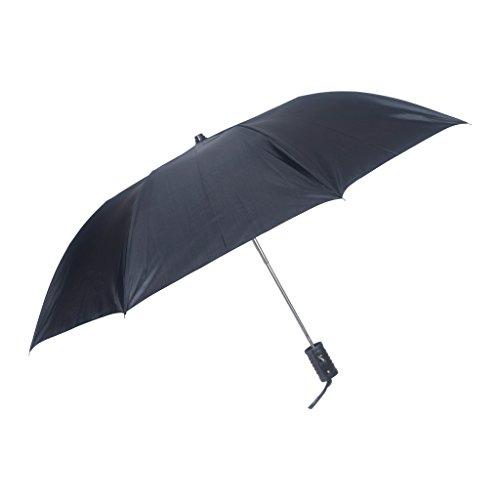 Fendo 2 fold Auto open black Umbrella