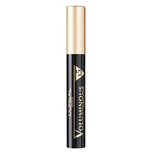L'Oréal Paris Voluminous Mascara, tiefschwarz - Wimperntusche für 5x mehr Volumen und kräftige Wimpern - 1er Pack (1 x 8 ml)