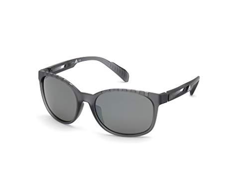 adidas SP0011 Gafas, grey/other/smoke polarized, 58 Unisex Adulto