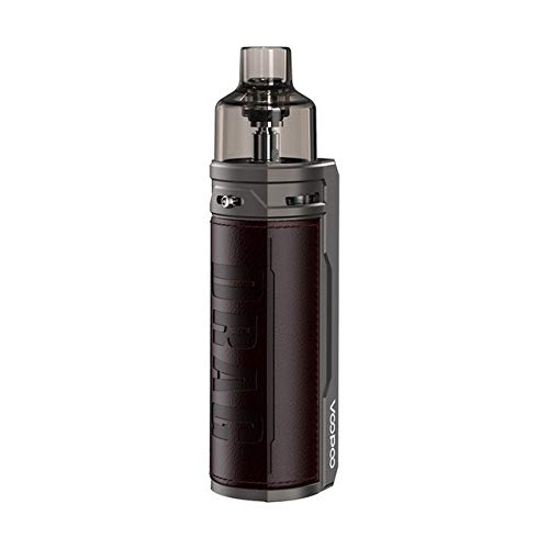 VOOPOO DRAG S Kit Pod System Box Mod Vape Kit with PnP coils 4.5ml cartridge 2500mAh battery 60W Electronic Cigarette Vaporizer (Chestnut)