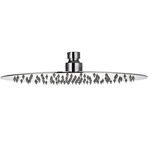 Roestvrij staal - regendouche Ø 20 cm - 54 sproeiers regendouche douchekop wellnessdouche hoofddouche