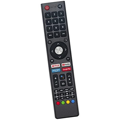 ALLIMITY GCBLTV02ADBBT Fernbedienung Ersetzen für Saba Changhong CHIQ UHD TV L32H7S L40H7S SA40S67A9 SA24S46A9 U58H7A SA32S67A9 L43H7S U58H7S U50H7A U55H7A U43H7A GCBL-TV02ADBBT