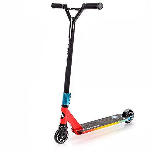 meteor Stunt Scooter Roller Trottinette Cityroller Kickscooter Freestyle Tretroller ABEC7 Kugellager (Galax)
