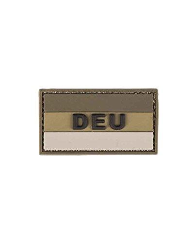 BKL1® BW Hoheitsabzeichen 3D Patch DEU Klett 3,5x6cm Ärmelabzeichen Oliv 1283