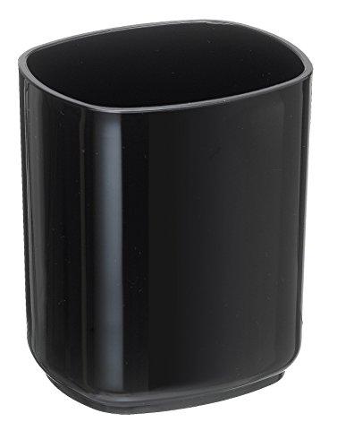 Acrimet Jumbo Pencil Cup Caddy Holder Desktop Organizer (Plastic) (Black Color)