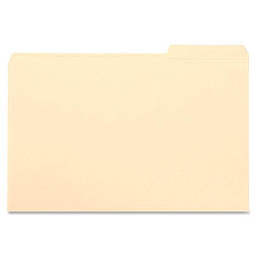 Smead File Folder, Reinforced 1/3-Cut Tab Right Position, Letter Size, Manila, 100 Per Box (10337)