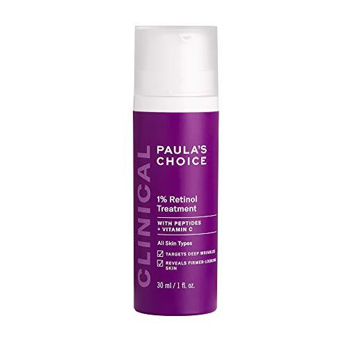 Paula's Choice Clinical 1% Retinol Treatment | Fortgeschrittener Retinol- & Antioxidantienkomplex | Reduziert feine Linien und Falten | Beruhigt gereizte Haut | für alle Hauttypen | 30 ml