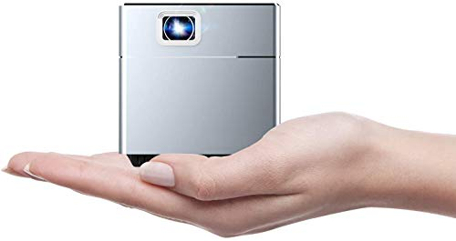 S6 Mini Projector, Portable Video Projector, Full HD 1080P Outdoor Movie Projector 300 Lumens, 3 hrs Working time, HDMI…