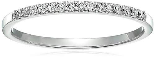 platinum and diamond wedding band - 2