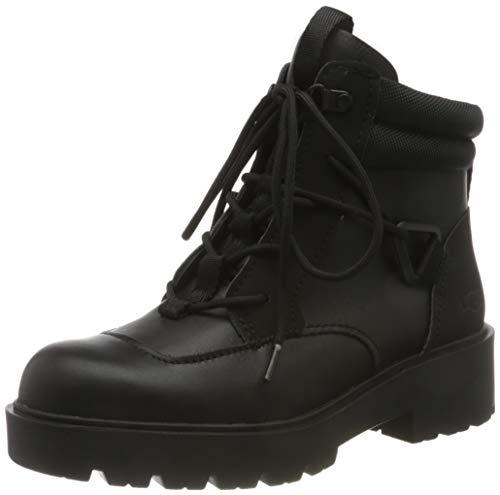 UGG Damen Tioga Hiker Fashion Boot, Black, 40 EU