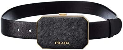 Prada Logo Pouch Detail Leather Belt 90 product image