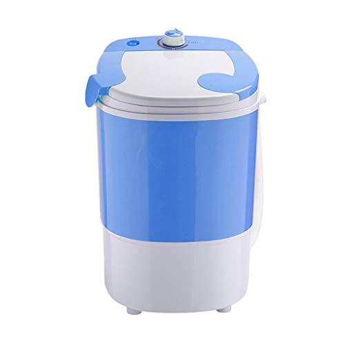 NO BRAND Lavadora Y Spiner, Máquinas De Lavandería Compactas De 2.5 Kg De Carga Superior Lavadora Portátil De Diseño Duradero Energía, Controlador Rotativo con Manguera Lavadora Portátil