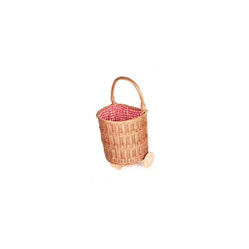Egmont Toys Einkaufstrolley, Kinder-Einkaufswagen, innen rot-weiß kariert