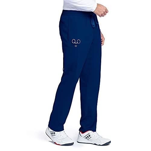 BARCO Grey Anatomy Evan Scrub - Pantalón para hombre, L, Azul marino