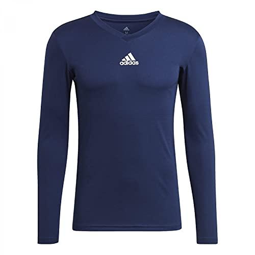 adidas GN5675 Team Base tee Sweatshirt Mens Team Navy Blue XL
