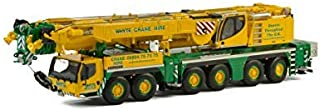 Liebherr LTM 1350-6.1 inchWhyte Crane Hire Mobile Crane Yellow and Green 1/50 Diecast Model by WSI Models 51-2008 商品カテゴリー:...