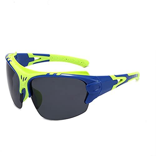 JSJE Gafas de Sol Deportivas polarizadas para Hombres Mujeres Corriendo Pesca Pesca Conducción Ciclismo Sombras Polvo a Prueba de Polvo HD ProtectionGoggles Green