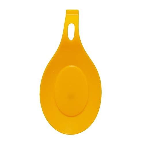 Coaster de bureau Tapis de serviettes en silicone - qualité alimentaire silicone Cuillère Mat silicone résistant à la chaleur napperon Plateau cuillère Pad boire un verre Coaster outil de cuisine Gran